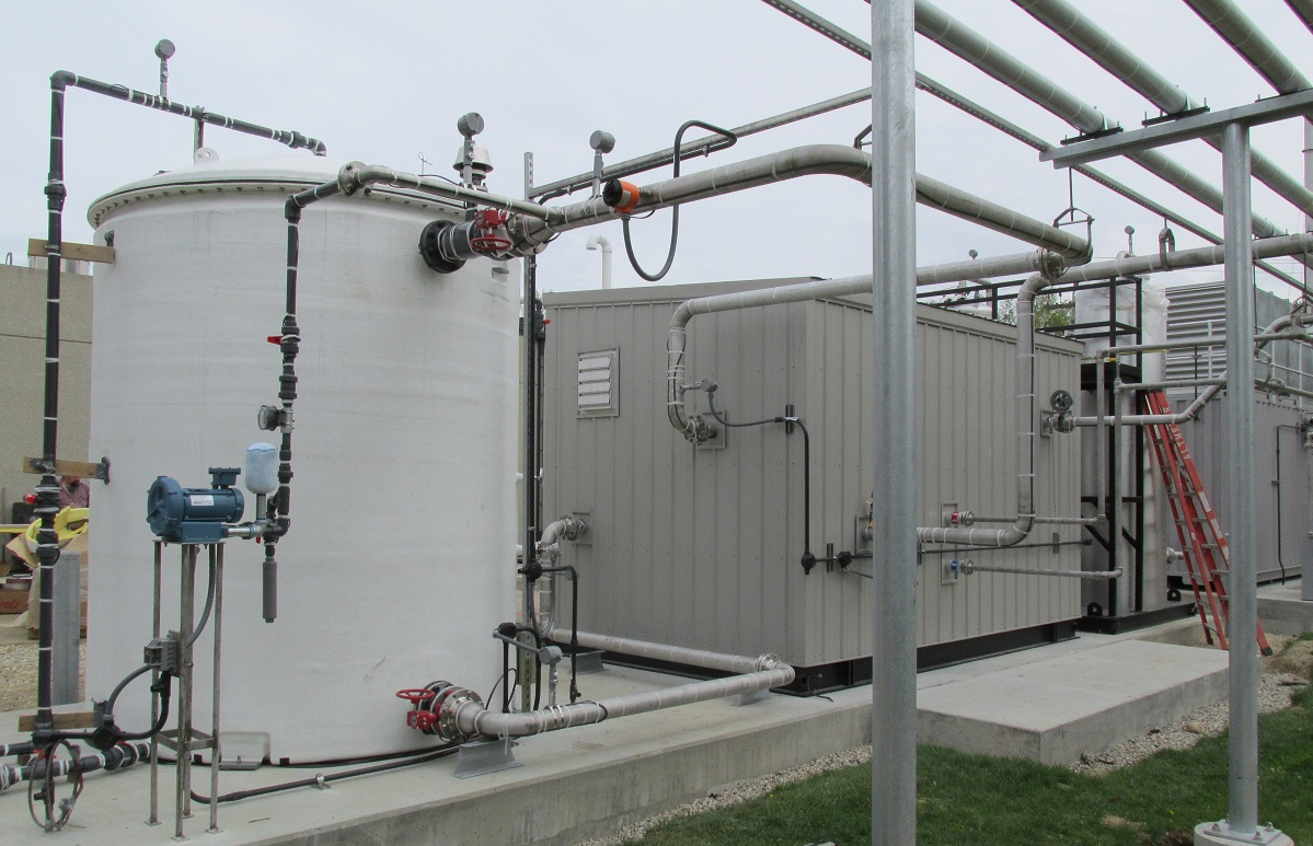 Wastewater - Municipal Wastewater Treatment Facility (Wisconsin)