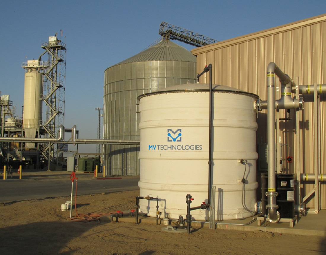 Energy from Dairy Manure and Food Processing Waste Digester, California